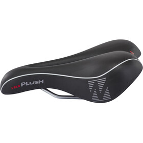 Velo Softgel Sports saddle Sportssadel Damer, black